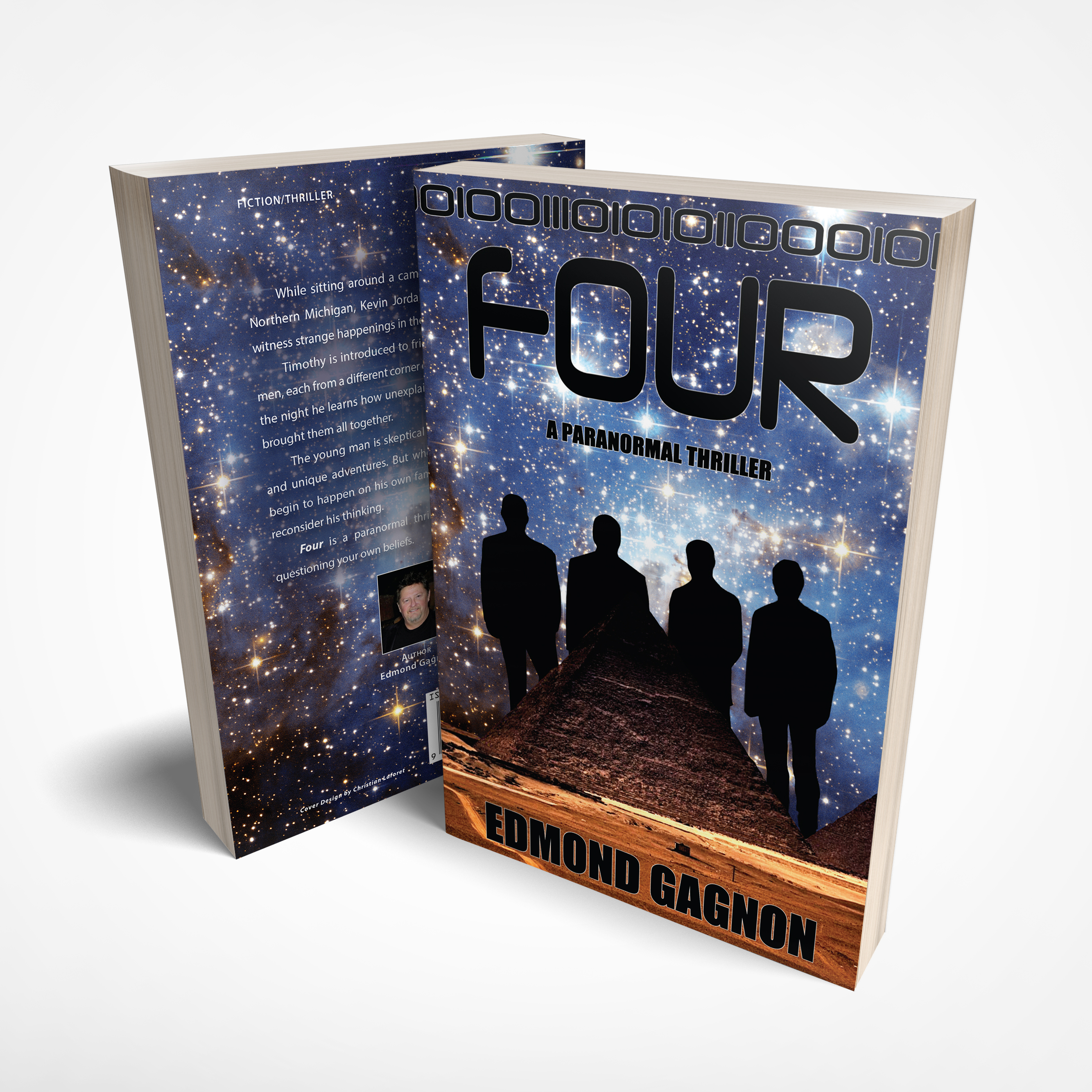 Paranormal Thriller Book, Four Author Edmond Gagnon