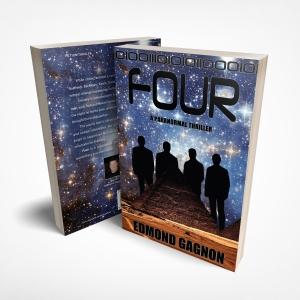 Paranormal Thriller Book, Four Author Edmond Gagnon