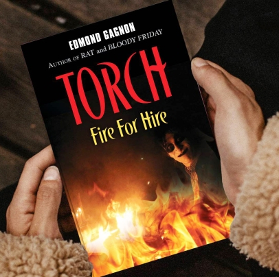 torch novel Author Edmond Gagnon